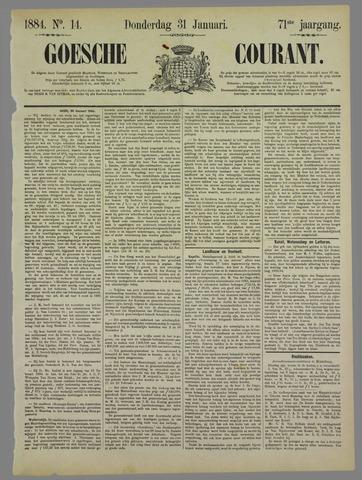 Goessche Courant 1884-01-31