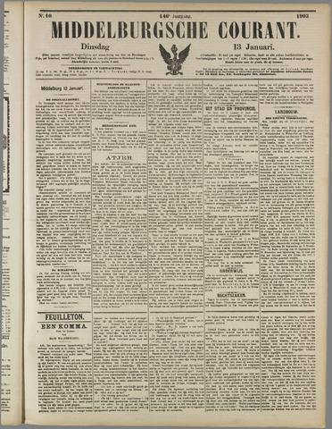 Middelburgsche Courant 1903-01-13