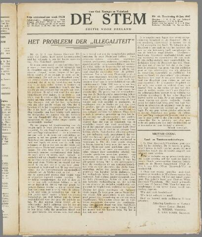 de Stem 1945-01-18