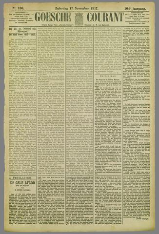 Goessche Courant 1917-11-17