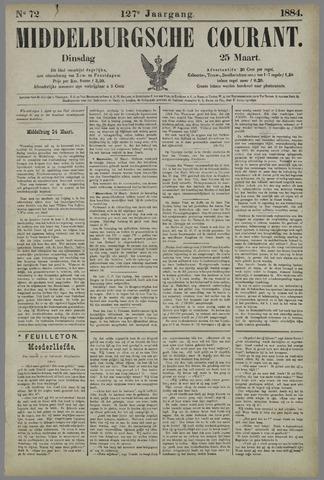 Middelburgsche Courant 1884-03-25
