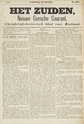 Het Zuiden, Christelijk-historisch blad 1880-10-21