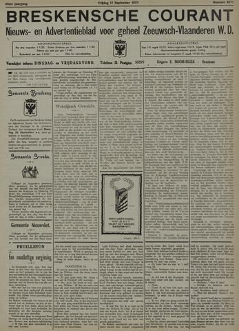 Breskensche Courant 1937-09-17