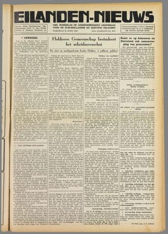 Eilanden-nieuws. Christelijk streekblad op gereformeerde grondslag 1949-04-27