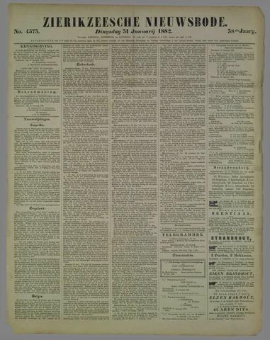Zierikzeesche Nieuwsbode 1882-01-31