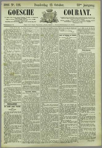 Goessche Courant 1906-10-25