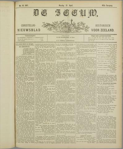 De Zeeuw. Christelijk-historisch nieuwsblad voor Zeeland 1897-04-13