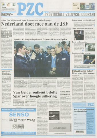 Provinciale Zeeuwse Courant 2002-02-09