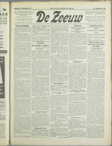 De Zeeuw. Christelijk-historisch nieuwsblad voor Zeeland 1937-09-09