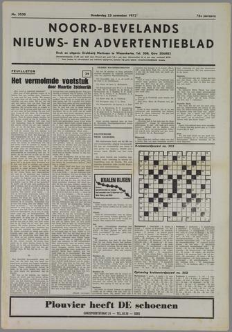 Noord-Bevelands Nieuws- en advertentieblad 1972-11-23