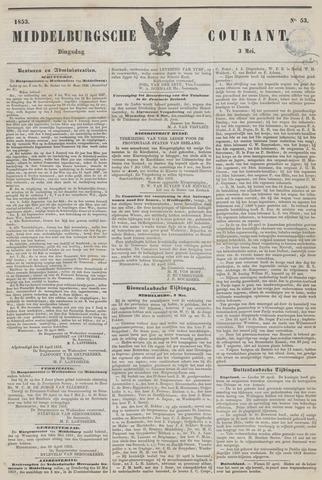 Middelburgsche Courant 1853-05-03