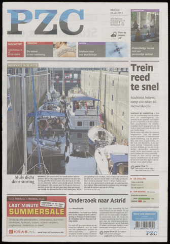 Provinciale Zeeuwse Courant 2013-07-26