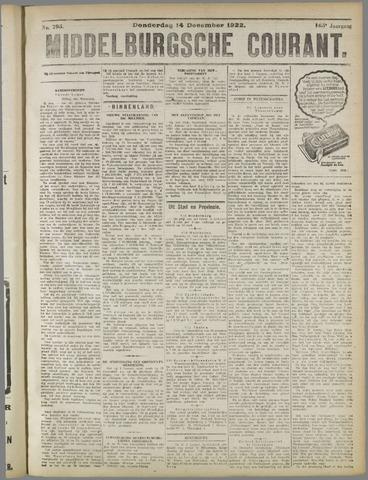 Middelburgsche Courant 1922-12-14