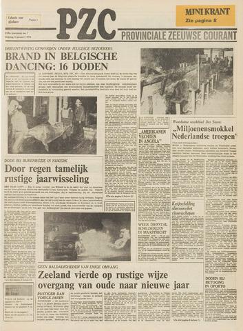Provinciale Zeeuwse Courant 1976