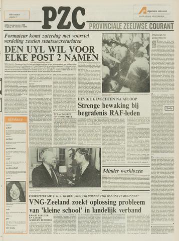 Provinciale Zeeuwse Courant 1977-10-28