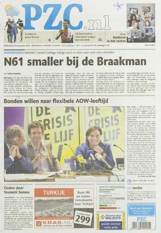Provinciale Zeeuwse Courant 2009-09-30