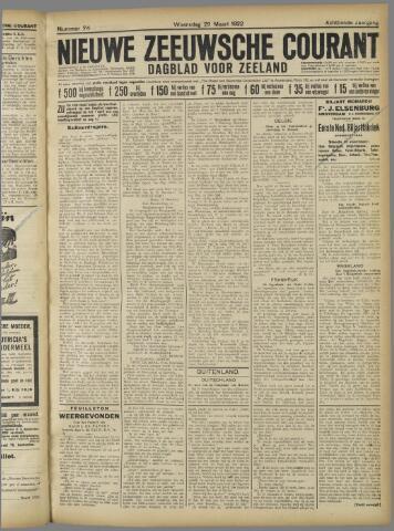 Nieuwe Zeeuwsche Courant 1922-03-29
