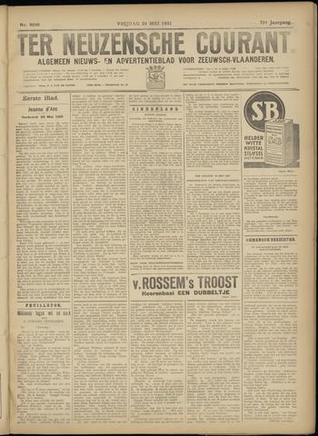 Ter Neuzensche Courant. Algemeen Nieuws- en Advertentieblad voor Zeeuwsch-Vlaanderen / Neuzensche Courant ... (idem) / (Algemeen) nieuws en advertentieblad voor Zeeuwsch-Vlaanderen 1931-05-29