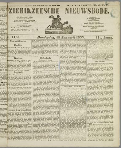 Zierikzeesche Nieuwsbode 1855-01-18