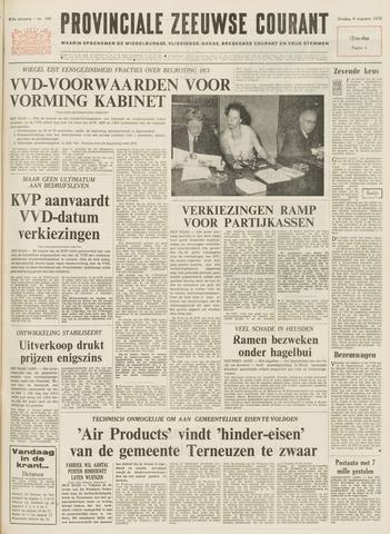 Provinciale Zeeuwse Courant 1972-08-08