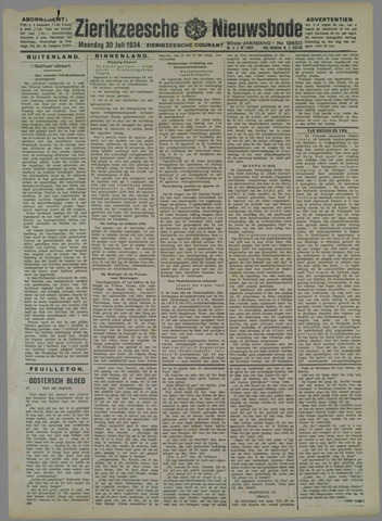 Zierikzeesche Nieuwsbode 1934-07-30