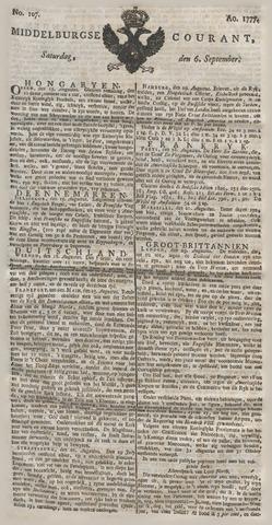Middelburgsche Courant 1777-09-06