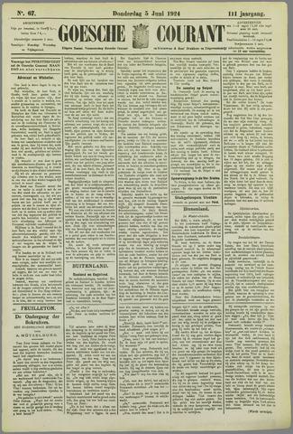 Goessche Courant 1924-06-05