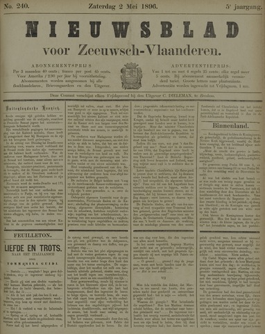 Nieuwsblad voor Zeeuwsch-Vlaanderen 1896-05-02