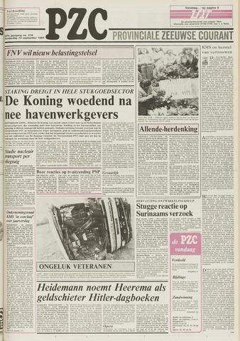 Provinciale Zeeuwse Courant 1984-09-13
