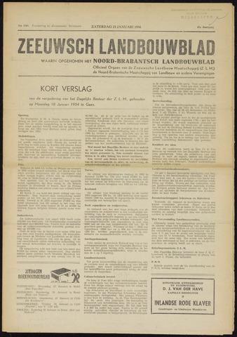 Zeeuwsch landbouwblad ... ZLM land- en tuinbouwblad 1954-01-23