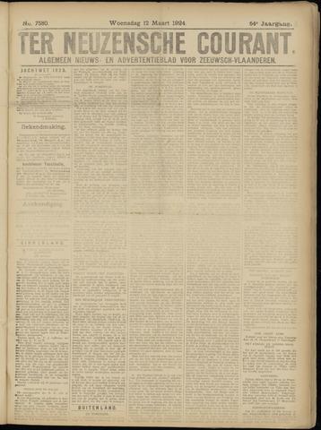 Ter Neuzensche Courant. Algemeen Nieuws- en Advertentieblad voor Zeeuwsch-Vlaanderen / Neuzensche Courant ... (idem) / (Algemeen) nieuws en advertentieblad voor Zeeuwsch-Vlaanderen 1924-03-12