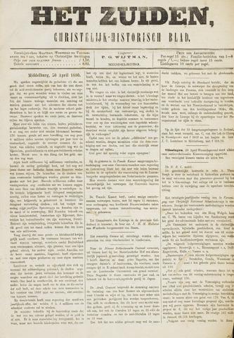 Het Zuiden, Christelijk-historisch blad 1880-05-01