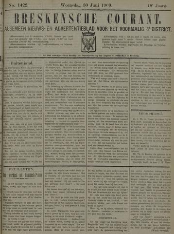 Breskensche Courant 1909-06-30