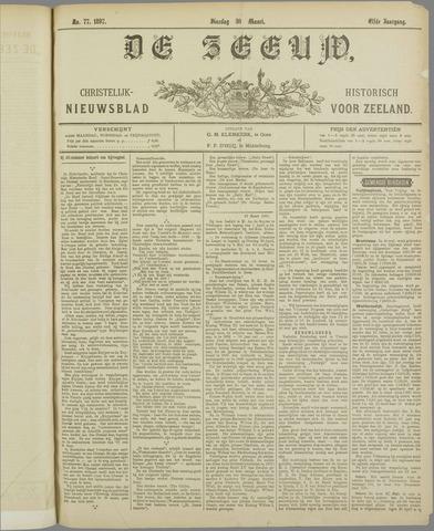 De Zeeuw. Christelijk-historisch nieuwsblad voor Zeeland 1897-03-30