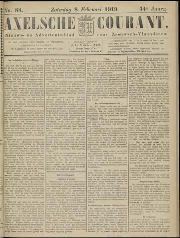 Axelsche Courant 1919-02-08