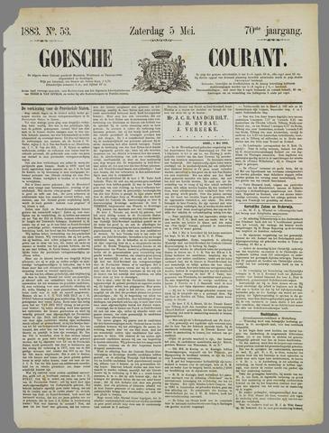 Goessche Courant 1883-05-05