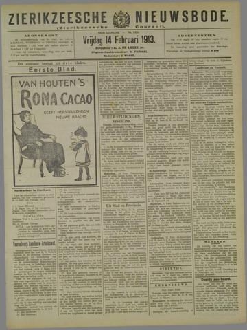 Zierikzeesche Nieuwsbode 1913-02-14