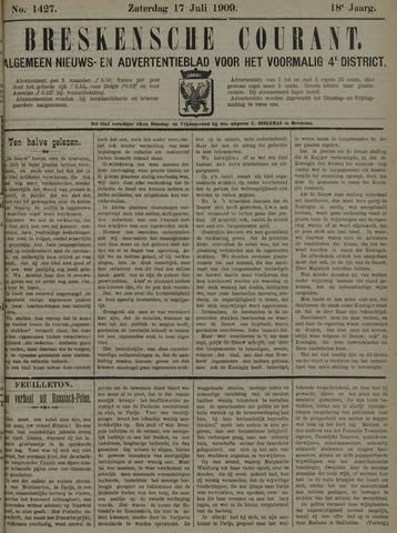 Breskensche Courant 1909-07-17