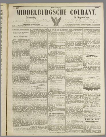 Middelburgsche Courant 1905-09-18