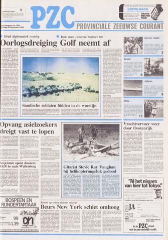 Provinciale Zeeuwse Courant 1990-08-28