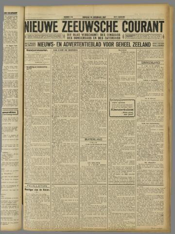 Nieuwe Zeeuwsche Courant 1927-12-20