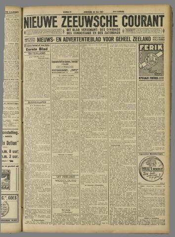 Nieuwe Zeeuwsche Courant 1927-07-30