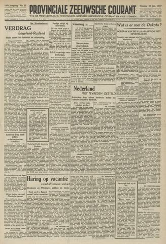 Provinciale Zeeuwse Courant 1947-01-28