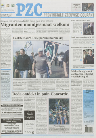Provinciale Zeeuwse Courant 2000-07-29