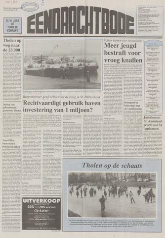 Eendrachtbode (1945-heden)/Mededeelingenblad voor het eiland Tholen (1944/45) 1996