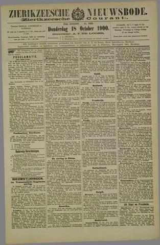 Zierikzeesche Nieuwsbode 1900-10-18