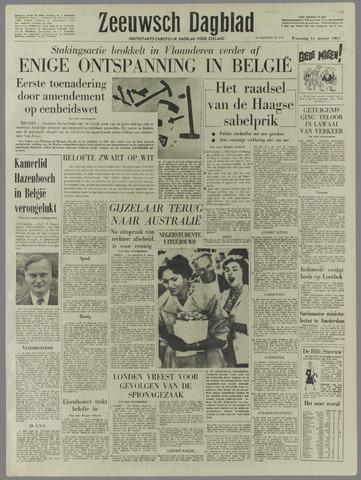 Zeeuwsch Dagblad 1961-01-11