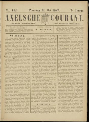Axelsche Courant 1887-05-21