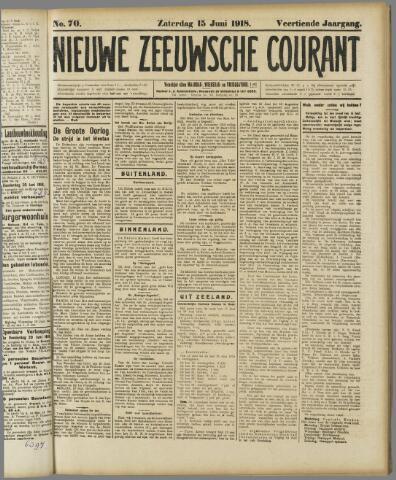 Nieuwe Zeeuwsche Courant 1918-06-15
