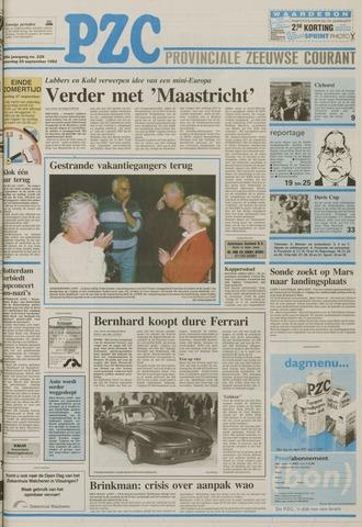 Provinciale Zeeuwse Courant 1992-09-26